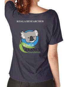 Koala Clancy Foundation - large logo researcher Women's Relaxed Fit T-Shirt