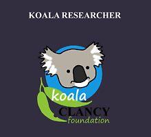 Koala Clancy Foundation - large logo researcher Unisex T-Shirt