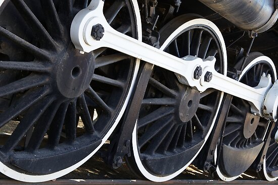 White wall Train wheels by bobkeenan