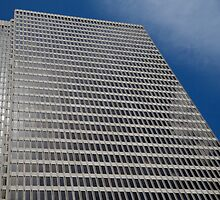 Skyscraper Blue Sky by bobkeenan