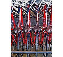 Bicycles Photographic Print