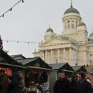 Helsinki Christmas Market & Cathedral by M-EK