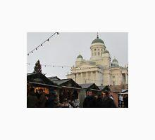 Helsinki Christmas Market & Cathedral Unisex T-Shirt