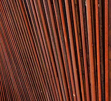 Rusted Steel Patterns by bobkeenan