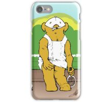 Any bear for Tennis? iPhone Case/Skin