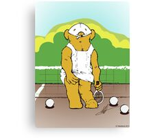 Any bear for Tennis? Canvas Print
