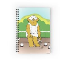 Any bear for Tennis? Spiral Notebook