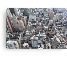 Eyes Over New York Canvas Print