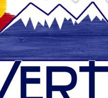 Silverton Colorado wood mountains Sticker