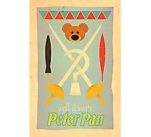 Walt Disney's Peter Pan Photographic Print