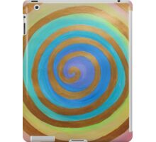 Gold Spiral iPad Case/Skin
