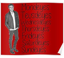 Youtuber Alfie Deyes days of the week  Poster