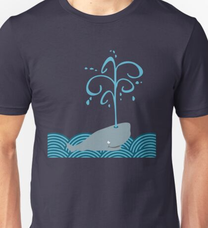 Whale in the sea VRS2 T-Shirt