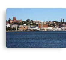 Newcastle cityscape Canvas Print