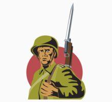 World War Two American Soldier T-Shirt