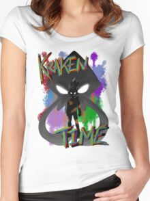 Kraken Time Women's Fitted Scoop T-Shirt