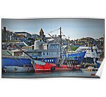 Penzance Harbour Poster