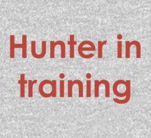 Hunter in Training Kids Tee
