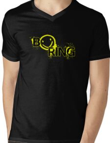 B☻ring Mens V-Neck T-Shirt