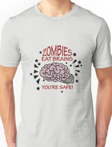 Zombies eat Brains VRS2 T-Shirt