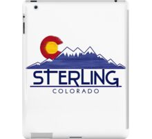 Sterling Colorado wood mountains iPad Case/Skin