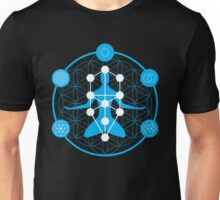 Spirituality and Flower of Life Unisex T-Shirt