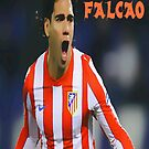 "Radamel Falcao ""EL TIGRE"" by DABC"