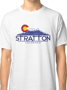 Stratton Colorado wood mountains Classic T-Shirt