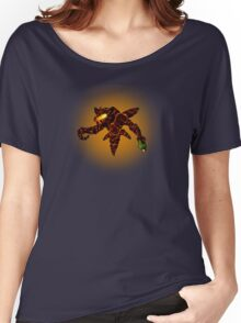 Sci-Fi Lava Alien from another world Women's Relaxed Fit T-Shirt