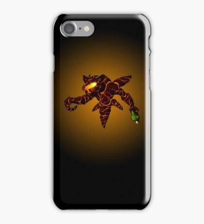 Sci-Fi Lava Alien from another world iPhone Case/Skin