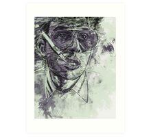 Fear and Loathing in Las Vegas - Johnny Depp - Paint Art Print