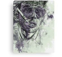 Fear and Loathing in Las Vegas - Johnny Depp - Paint Canvas Print