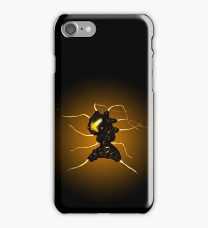 Sci-Fi Lava Whip Alien from another world iPhone Case/Skin