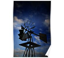 Country Wind Catcher Poster