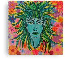 Green Elf Canvas Print