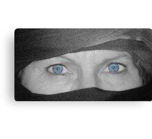 Piercing Blue Canvas Print