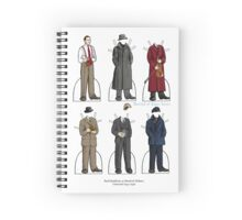 Basil Rathbone as Sherlock Holmes Spiral Notebook