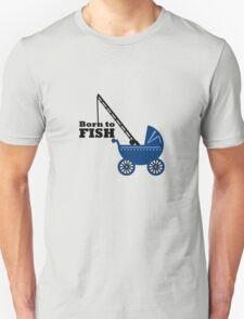 Born to Fish (Pram) VRS2 T-Shirt