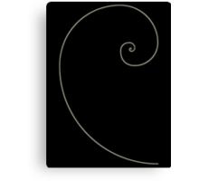 Fibonacci Spiral Canvas Print