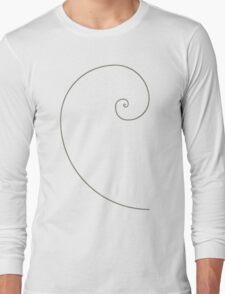 Fibonacci Spiral Long Sleeve T-Shirt