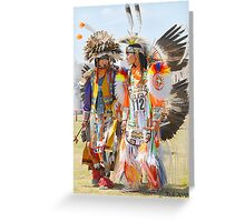 Pow Wow - Grand Prairie, Tx Greeting Card