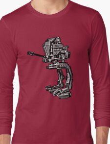 AT-RT Walker stencil by #fftw Long Sleeve T-Shirt