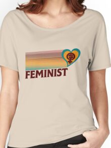 Retro Feminist  Women's Relaxed Fit T-Shirt