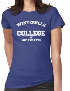 Winterhold College Womens Fitted T-Shirt