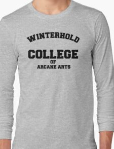 Winterhold College T Shirt Long Sleeve T-Shirt