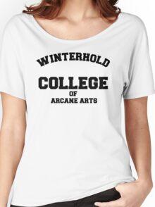 Winterhold College T Shirt Women's Relaxed Fit T-Shirt