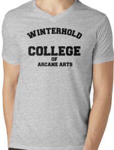 Winterhold College T Shirt Mens V-Neck T-Shirt