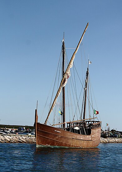 The Caravel Boa Esperanca Lagos Portugal by Paul Pasco