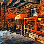 Inside Kerr Mill II - North Carolina by Dan Carmichael