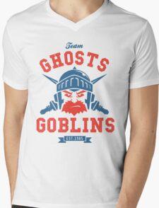 Team Ghost & Goblins Mens V-Neck T-Shirt
